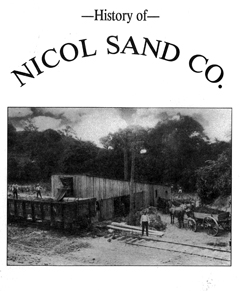 cover of History of Nicol Sand